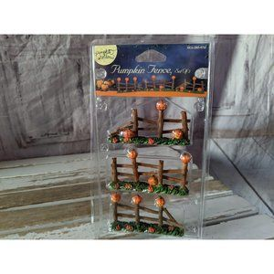 Lemax Pumpkin Fence Halloween Village Collection P